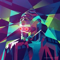 Starlord by mobokeh