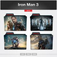 Iron Man 3 (Folder Icon) by limav