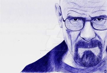 Walter White - Breaking Bad by A-Lack-of-Rainbows
