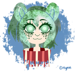 [Art Payment]: Green Ryone by SimplyDefault