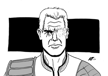 Cable - daily sketch by antoniotyler
