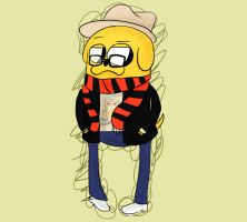 jake hipster by crazycolor19