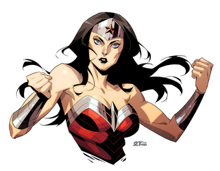 Wonder Woman by Nib2T