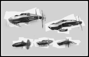 concept Flying-ships 2 by U-gene-1