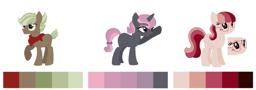 Palette Pones - OPEN! by PastelPonyParade