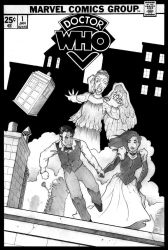 Doctor Who Cover Page by James-LeMay-Graphix