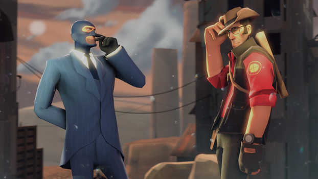 Sniper-Spy by ArissaXena