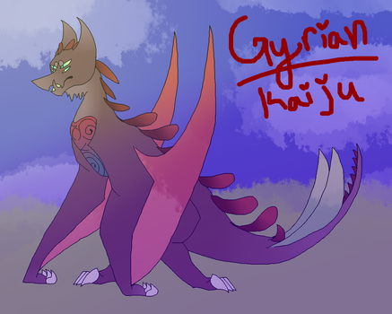 Gyrian Kaiju // Attempted At It // by xXBlitzyTheRottXx