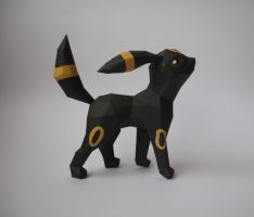Umbreon Papercraft by Olber-Correa
