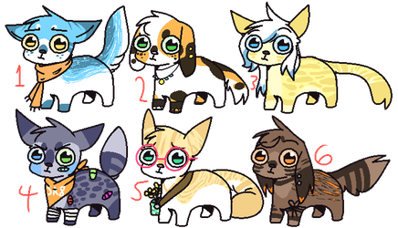 Lil Adoptables Batch [ CLOSED ] by TangerineAdopts