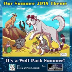 Contest Promo 2018 0001 by The-Wolf-Pack