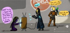 Trolling hard in the Cosmodrome by Dulcamarra