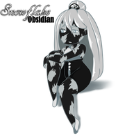 Snowflake Obsidian by Chibi-Works