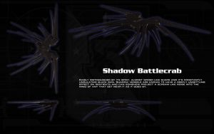 Shadow Battle Crab ortho by unusualsuspex