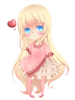 Sophie~ Commission for Kimi-Kitty by Flamyxchan