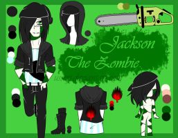 CREEPYPASTA OC REF- Jackson The Zombie by UsserJ