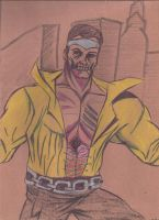 Zombie Luke Cage by JohnReynolds