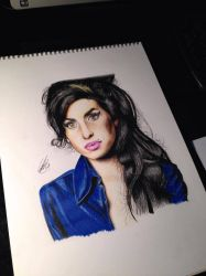 Amy winehouse by clarke-art
