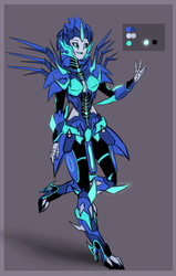Nightstorm Redesign by lalacat2000