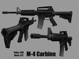 M-4 Carbine by KidneyShake