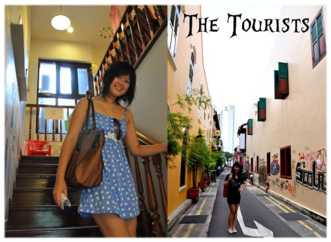 The Tourists by glam-our
