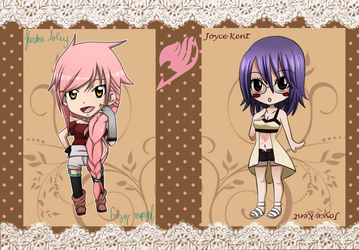 Fairy Tail OC~ Open Collab with Joyce x3 by KendyPun