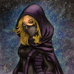 DC Comics: Spoiler a.k.a. Stephanie Brown by kimberly-castello