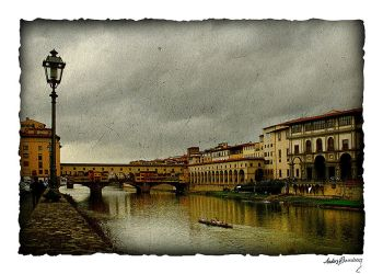 Arno river by AnteAlien
