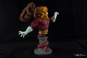 [Garage kit painting #09] Griffin bust - 007 by DasArt