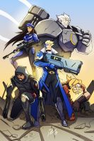Overwatch - Original Strike Team by kawoninja