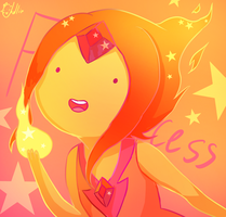 Flame Princess by ChellinC