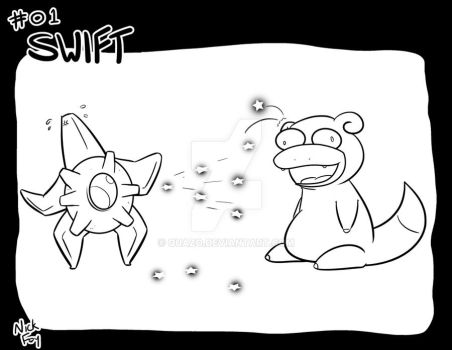 Inktober 2017: Pokemon Edition - Swift