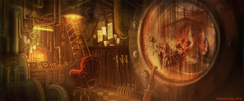 Amnesia: A Machine for Pigs concept 2 by Ben-Andrews