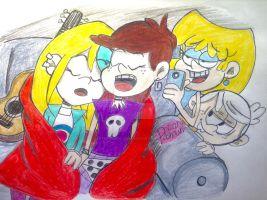 The Loud House: Sleep over finished Art  by artdemaurialashawn21