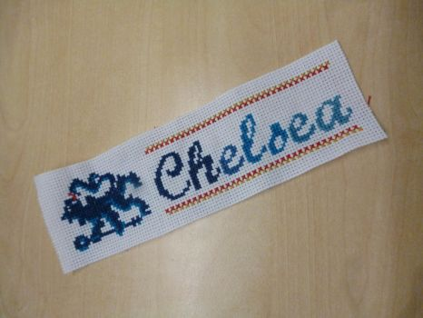 Chelsea Bookmark by Thr3eGuess3s