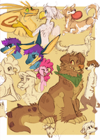 Sketchesss by DAND-E