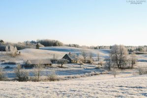 Frosty hills by ljenda