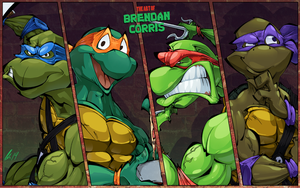 Teenage Mutant Ninja Turtles by BrendanCorris