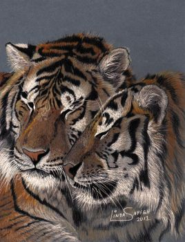 Tiger Love by Artsy50