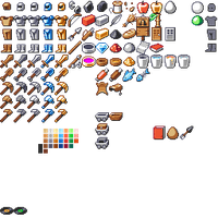 Minecraft: Items Reskin by TurnThePhage