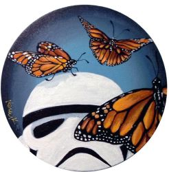 Stormtrooper Butterflies Series 3/9 by TrampLamps