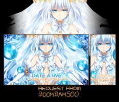 Tagwall Request Date A Live Tobiichi Origami by LouNaART