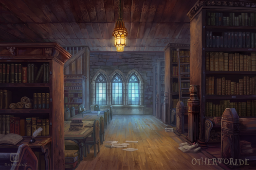 [C] Library by MalthusWolf