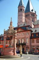 Mainz Cathedral, Mainz by Irondoors