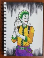 Day 158 The Joker by TomatoStyles