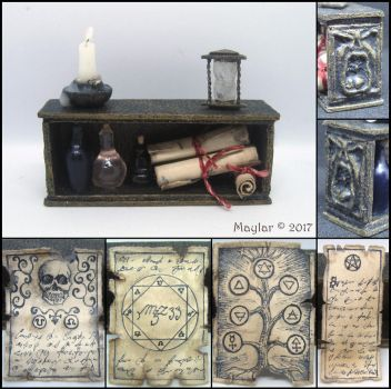 Miniature Magic Shelf by Maylar