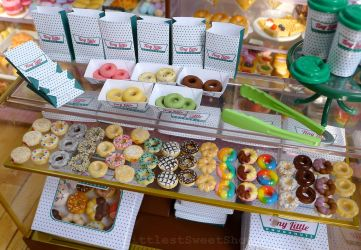Tiny Little Doughnuts by LittlestSweetShop