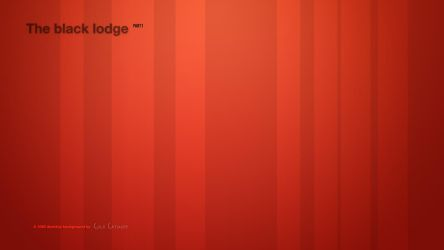 The Black Lodge P1 - Wallpaper by ColdCathode