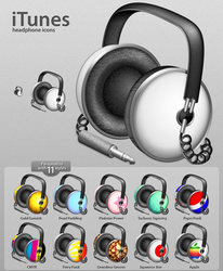 iTunes Icon Pack by Flarup