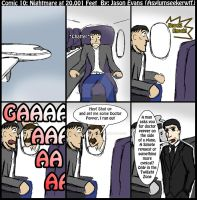 Comic 10 Nightmare at 20,001 Feet by NonsenseGhost